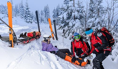werknemer arbeidsongeschikt door wintersport werkgever is de dupe